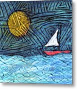 By The Light Of The Moon Metal Print