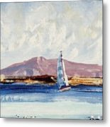 By The Lighthouse Metal Print