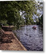 By The River Ouse Metal Print