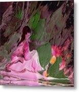 By The River Piedra I Sat Down And Wept Metal Print