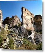 By The Ruins 2 Metal Print