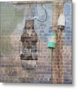 By The Sea In Color Metal Print