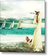By The Sea Metal Print by Shanina Conway