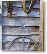 By The Tool Shed Metal Print