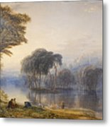 By The Waters Of Babylon Metal Print