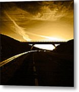 Bye Pass Around Waterford City, County Metal Print