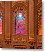 Byrd Theater Alcoves Metal Print
