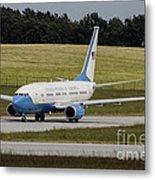 C-40 Clipper Taxiing At Dresden Metal Print