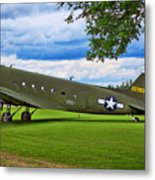 C-47 Special Delivery Metal Print