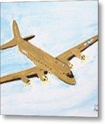 C-54 Warplane Metal Print