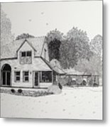 C And P's House  Metal Print by Michelle Welles