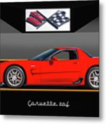 C5 Corvette Zo6 'profile' I Metal Print