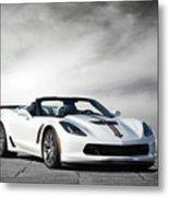 C7 Z06 Corvette Metal Print