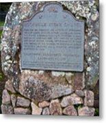 Ca-779 Rockville Stone Chapel Metal Print