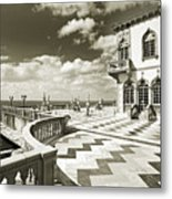 Ca D'zan Mansion Metal Print