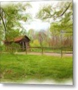 Cabin House Series 1360 Metal Print