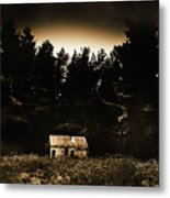 Cabin In The Woodlands  Metal Print