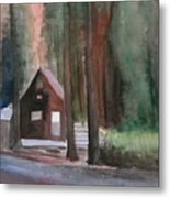 Cabin In The Woods 08 Metal Print