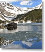 Cabin On Chinns Lake 2 Metal Print