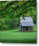 Cabin On The Blue Ridge Parkway - 1 Metal Print
