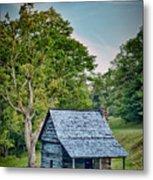 Cabin On The Blue Ridge Parkway - 10 Metal Print