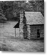 Cabin On The Blue Ridge Parkway - 5 Metal Print