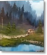 Cabin Retreat Metal Print
