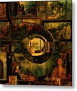 Cabinet Of Curiosities Metal Print