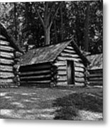 Cabins Of Valley Forge Metal Print