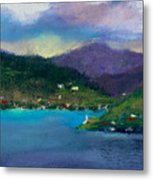 Cabins On The Lake Metal Print