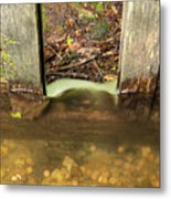 Cable Mill Flume 1 A Metal Print