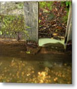 Cable Mill Flume 1 B Metal Print