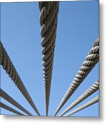 Cables To Heaven Metal Print