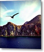 Cabo And The Cliffs Metal Print