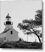 Cabrillo Lighthouse 3 Metal Print