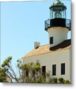 Cabrillo Lighthouse Metal Print