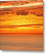 Cabrillo Sunset Metal Print