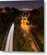 Cabrillo To Downtown Metal Print