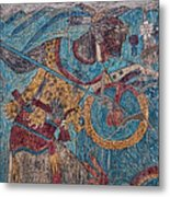 Cacaxtla Warrior I Metal Print