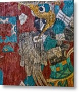 Cacaxtla Warrior II Metal Print