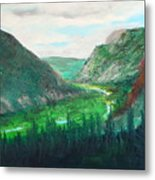Cache Le Pudre Valley Metal Print