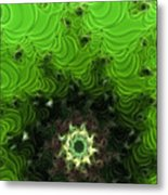 Cactus Abstract Metal Print