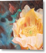 Cactus Blossom 1 Metal Print