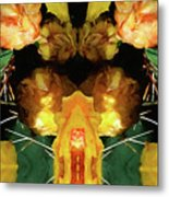 Cactus Flower 08-005 Abstract Metal Print