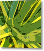 Cactus Work Number 2 Metal Print