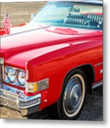 Caddy Metal Print