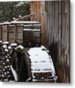 Cades Cove Mill I Metal Print