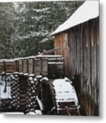 Cades Cove Mill II Metal Print