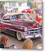 Cadillac Coupe Deville Metal Print