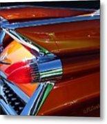 Cadillac Tail Fin View Metal Print